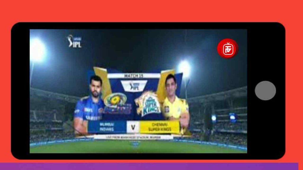 thop tv app live cricket match