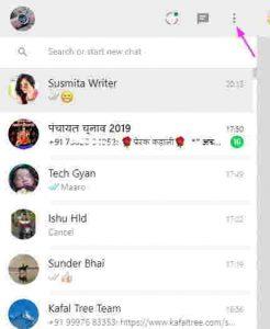 whatsapp web logout
