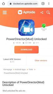 PowerDirector Watermark ke Bina Download kaise kare